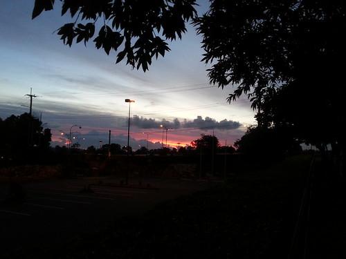 morning sky cloud sunrise australia brisbane queensland