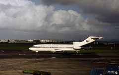 N111EK Democratic Republic of the Sudan VIP Boeing 727-77 at Shannon Rineanna Airport