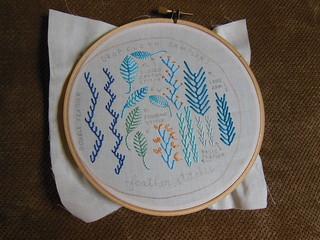 Feather Stitch Sampler