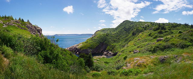 Cuckold's Cove Panorama