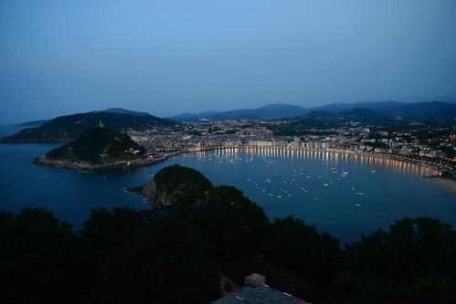San Sebastian at dusk | by maveric2003