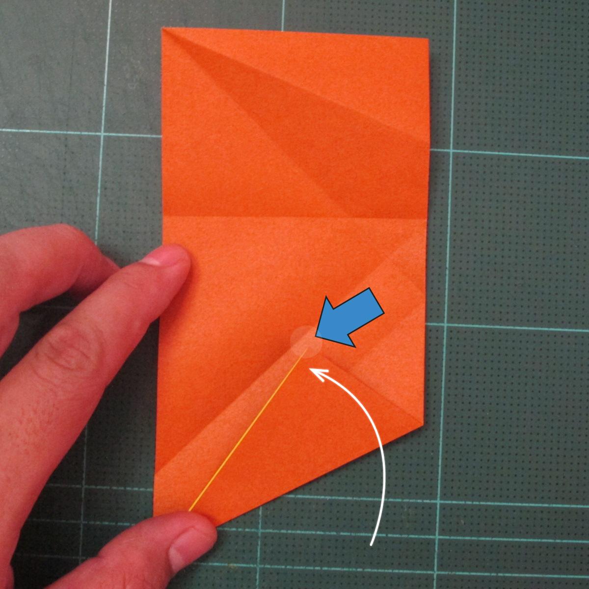 การพับกระดาษเป็นรูปปลาคาร์ฟ (Origami Koi Fish) 008