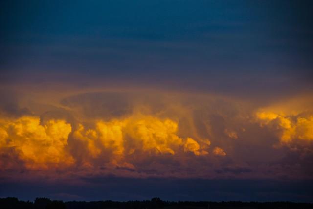 083114 - Evening Nebraska Storm Cells
