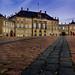 Amalienborg: the flag is up, the prince is home (Denmark #36 Copenhagen, Amalienborg)