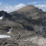 Blake Passmore below Swiftcurrent Glacier