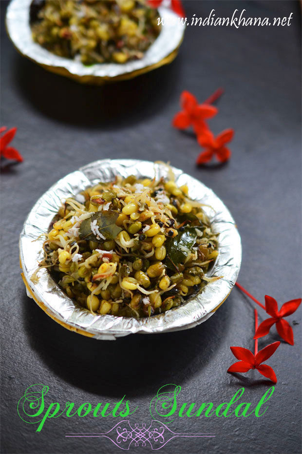 Moong Sprouts Sundal