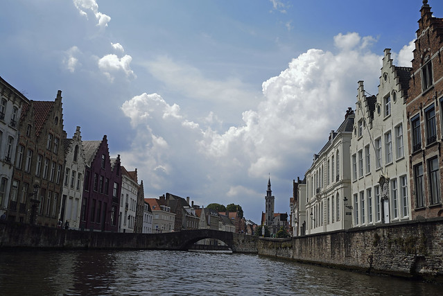Bruges on water