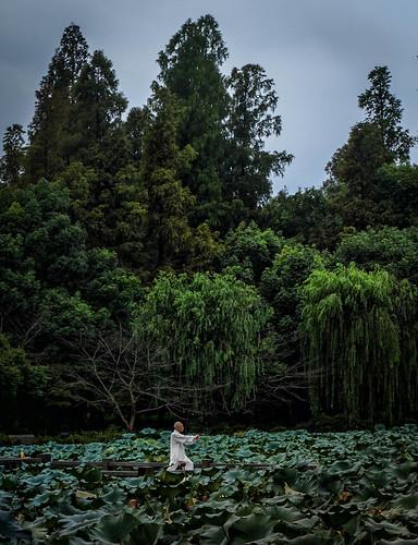 china sunrise tai westlake chi hangzhou xihu zhejiang peacefull