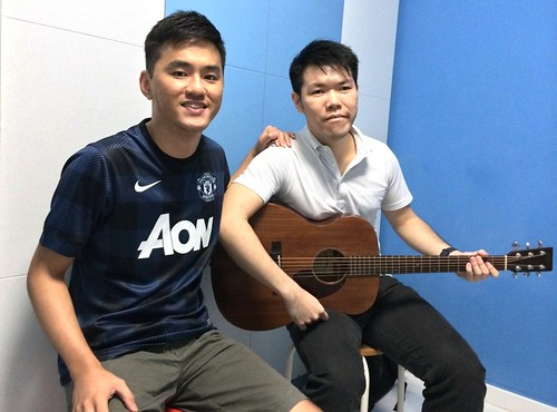 Private guitar lessons Singapore Thomas