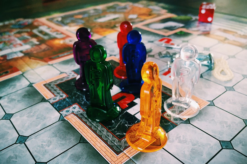 Sunday afternoon Cluedo.