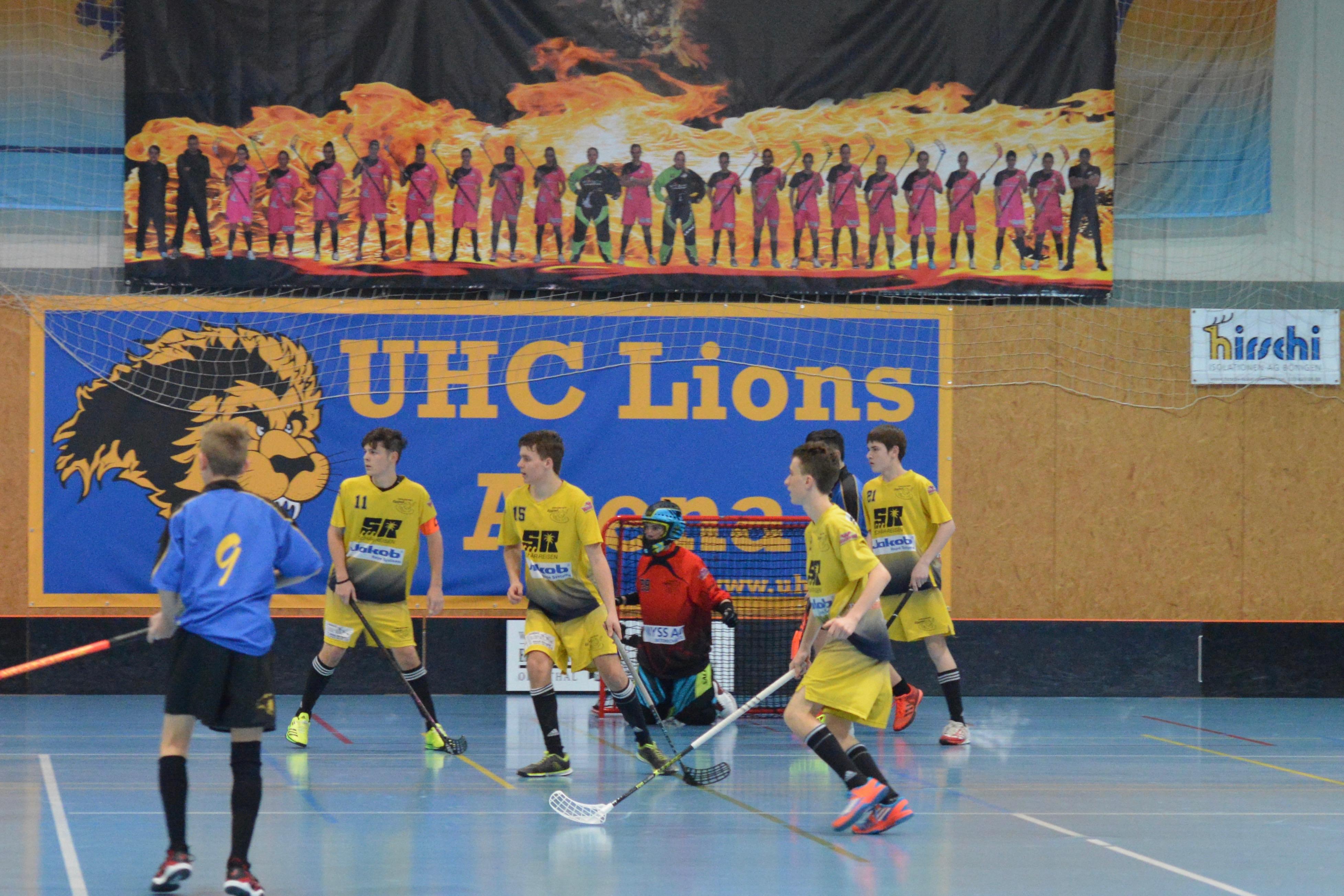 Junioren U16B - Konolfingen Lions Saison 2016/17