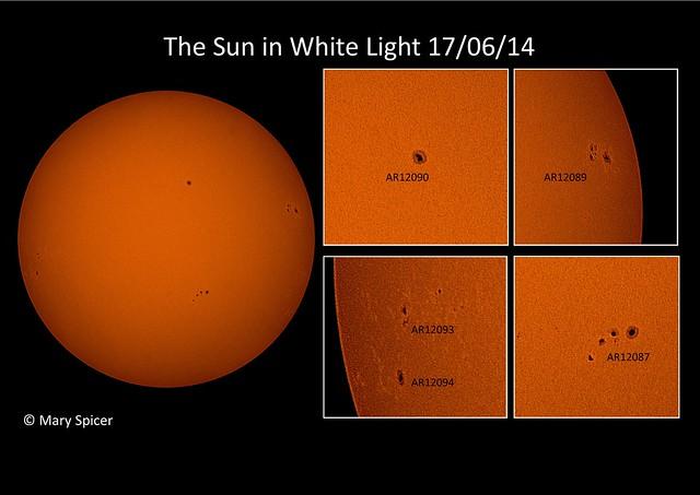 Sun in White Light 17/06/14