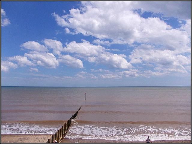 Blue Sky and a Calm Sea ..