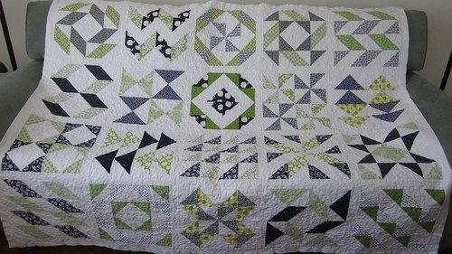 Material Girl Quilts layer cake sampler quilt along