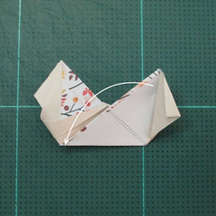 วิธีการพับลูกบอลกระดาษญี่ปุ่นแบบโคลเวอร์ (Clover Kusudama)009