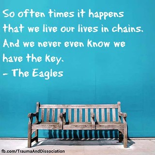 We hold the keys to our own freedom, through recovery | by TraumaAndDissociation
