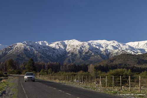 chile mountains canon nieve andes otoño cerros cordillera montañas viregión 6taregión