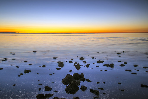 sea sky water weather night sunrise landscape lowlight clear redcliffe sunsetsandsunrisesgold slowshutteronwater