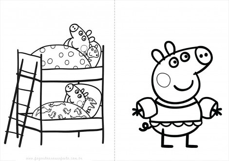 Peppa Pig Desenhos Desenhos Do Peppa Pig Para Colorir Pin Flickr