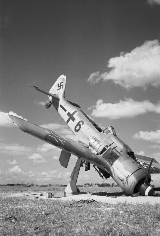Um alemão Focke-Wulf FW 190A-8 lutador