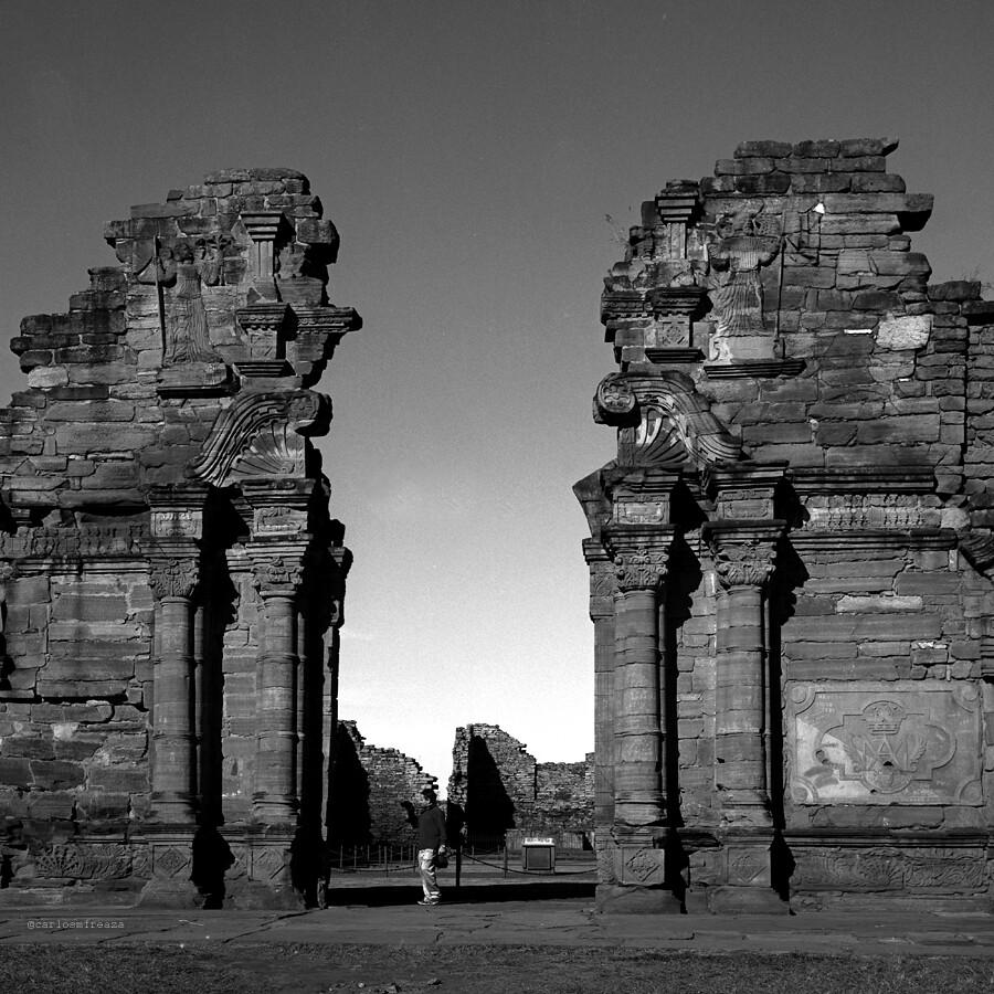 San Ignacio Miní church ruins