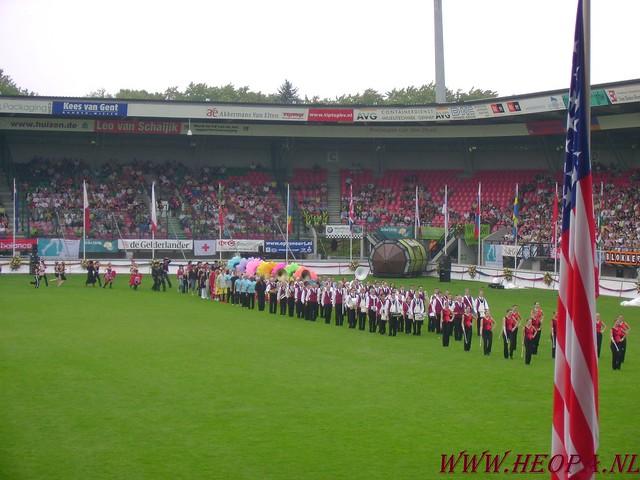 2007-07-16 Startbewijs op halen en vlaggen parade. (60)