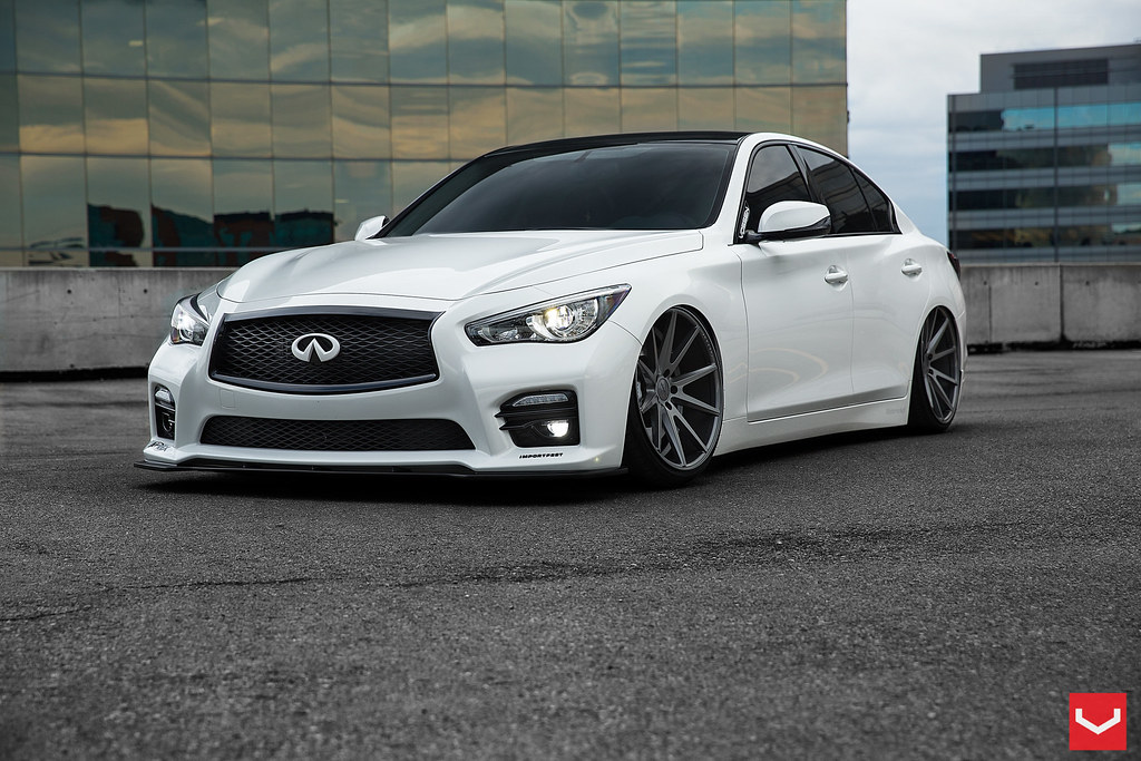 Infiniti Q50 S 20 Quot Vfs1 Matte Graphite With Clear Coat