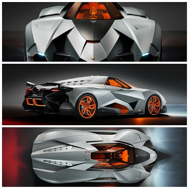 New Lamborghini Egoista Better Than Murcielago Futu Flickr