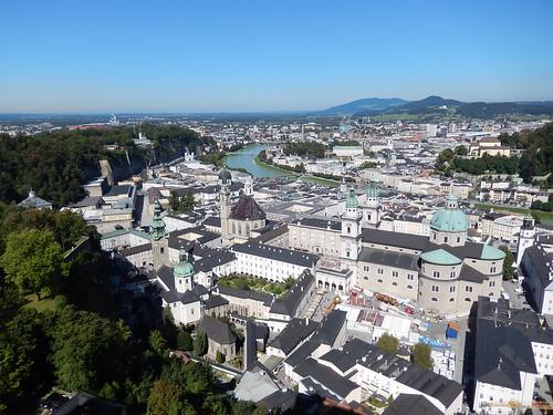 Salzburg - vanaf Festung Hohensalzburg - 2
