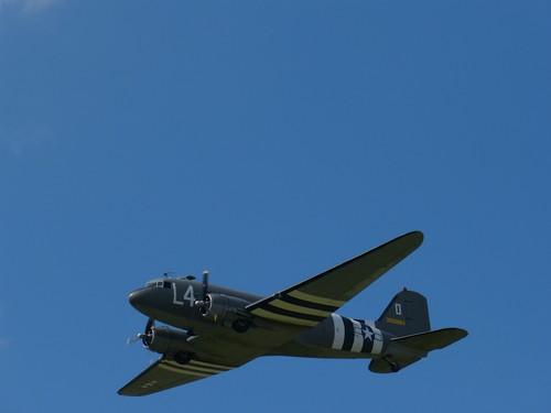 Douglas DC3 x 2 over Shoreham 2 | by Elsie esq.