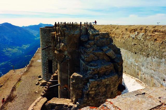 Briançon, Fort du Mont Chaberton, 3130 metres