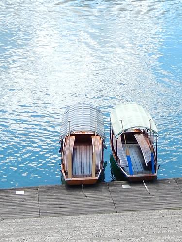 Lake Bled - gondolas