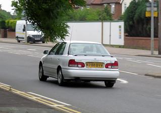 1995 Hyundai Lantra Jura Auto   by Spottedlaurel