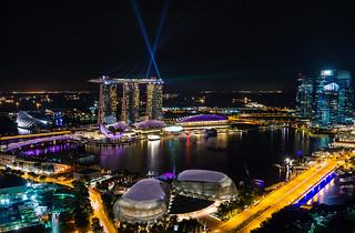 Night view of Marina Bay, Singapore | by Mac Qin