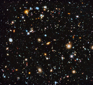 Hubble's colourful view of the Universe | by Hubble Space Telescope / ESA