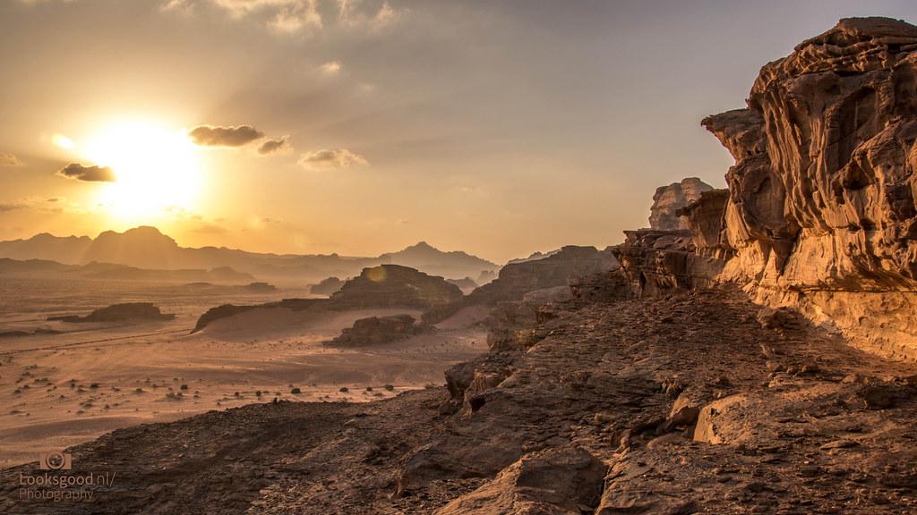 Jordan Wadi Rum Desert 4k Wallpaper Desktop Background