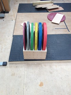 Toaster Rack for Olympic Discs | by brf