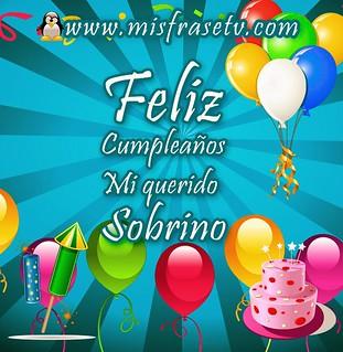 A Mi Querido Sobrino Happy Birthday Ligia