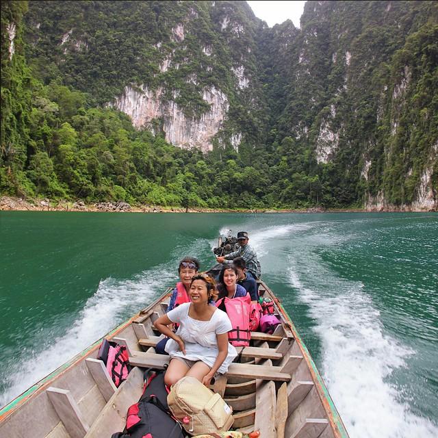 Visiting the oldest evergreen rainforest Khao Sok