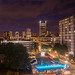 Portland Downtown/PSU Campus at night