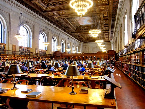 New York Public Library Reading Room | by Photographing Travis
