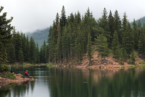 red lake colorado fishermen bearlake sanisabelnationalforest spanishpeaks gettinghigh2014
