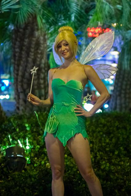 Tinker Bell - Las Vegas Strip