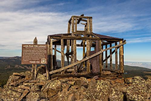 Leon Peak Fire Lookout   by IntrepidXJ