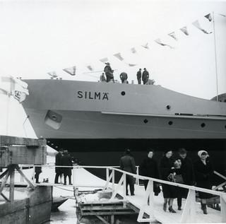 Vartiolaiva Silmän kastajaiset vuonna 1963