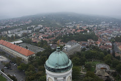 View from the tower of the Esztergom Basilica