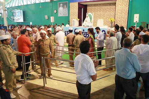 Devotees seeking blesings