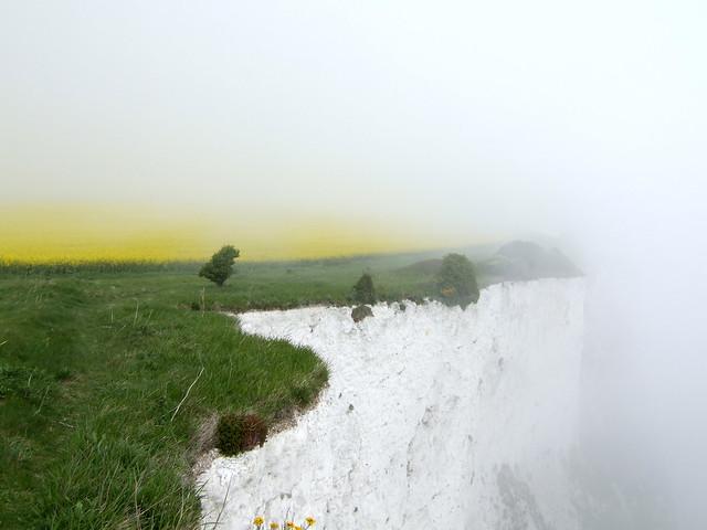 White cliffs near St Margaret's at Cliffe
