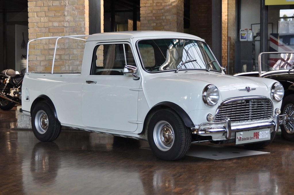 Morris Mini Cooper Pickup Classic Remise I Meilenwerk I Be Flickr