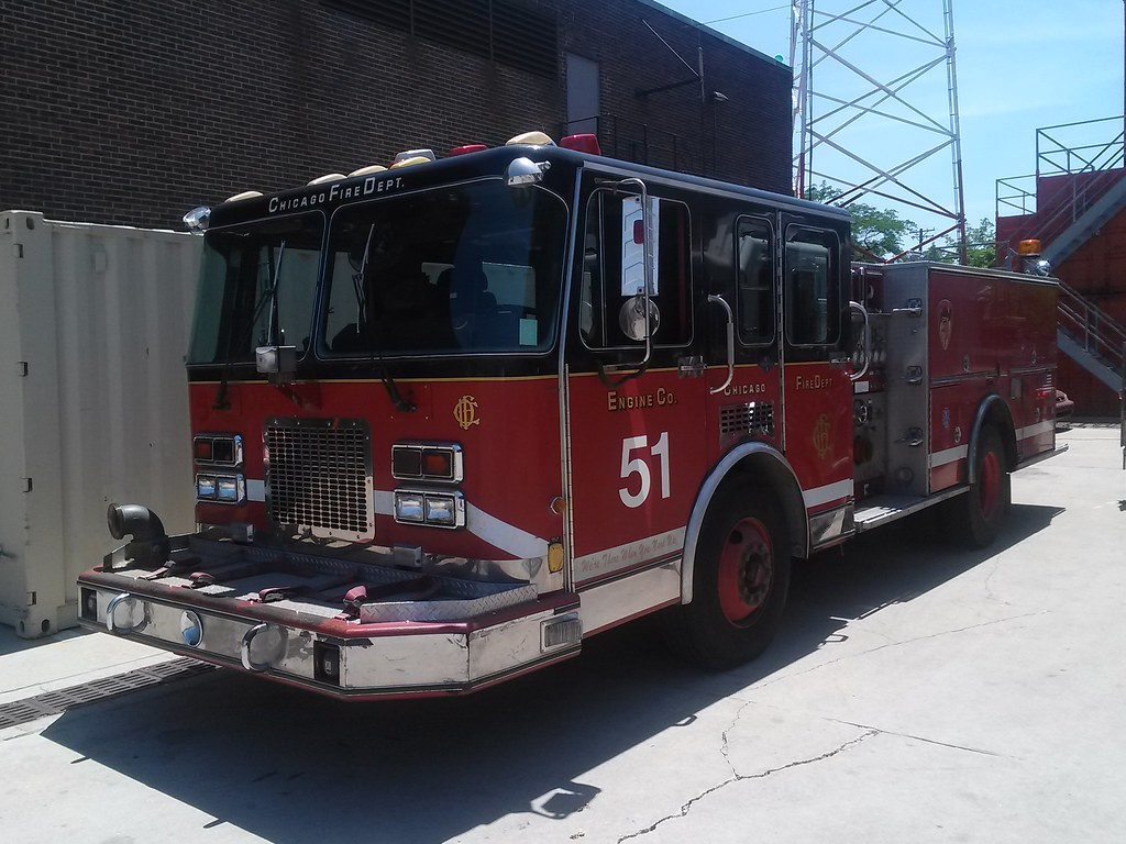 Engine 51 (Chicago Fire)   CFD Fire Muster and Swap Meet